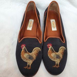 Talbots Rooster Loafer Slip On Rare 7